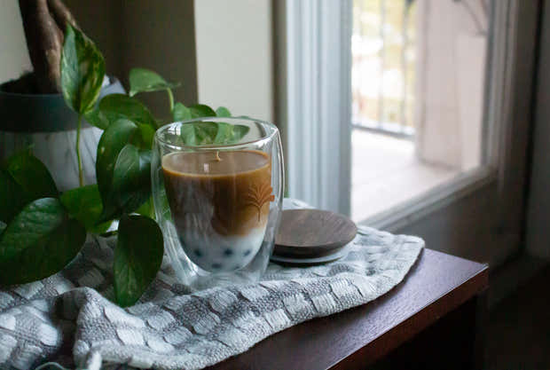 Vietnamese Coffee - Scented Organic Coconut Wax Candle 1