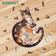 NatoCraft Premium Wooden Jigsaw Puzzle - Long Tail Cat