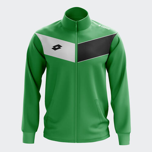 Lotto Junior L73 Wind Jacket – Emerald/White/Black