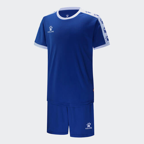 Kelme Junior Cinta Jersey & Short Set – Blue/White