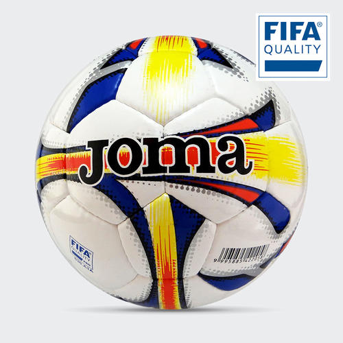 Joma Dali Futsal Match Ball White/Multi, 4 (Pro)