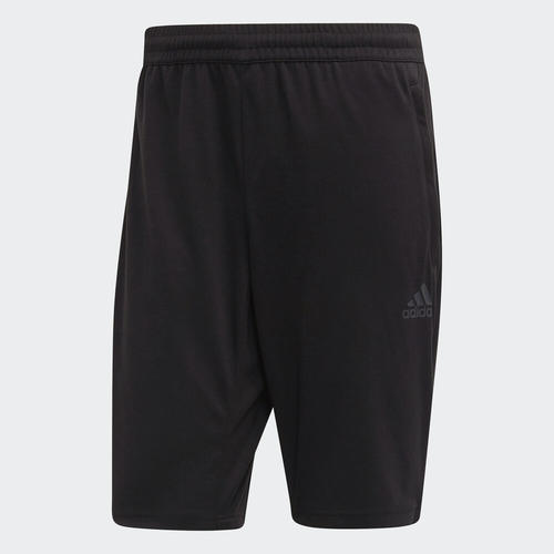 adidas TAN Long Shorts – Black