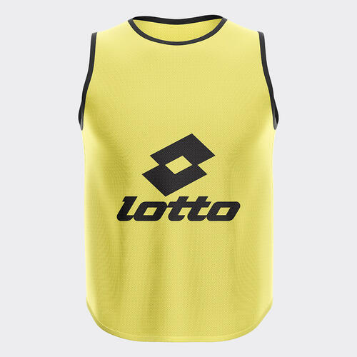 Lotto Mesh Training Bib – Fluro-Yellow