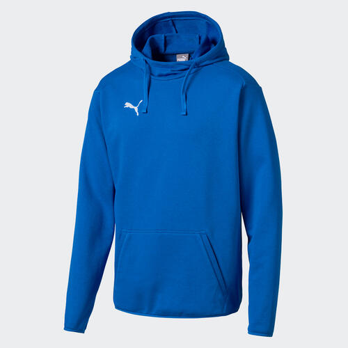 Puma LIGA Casual Hoodie – Electric-Blue/White