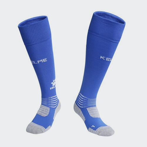 Kelme Patada Long Calf Football Sock – Blue/White