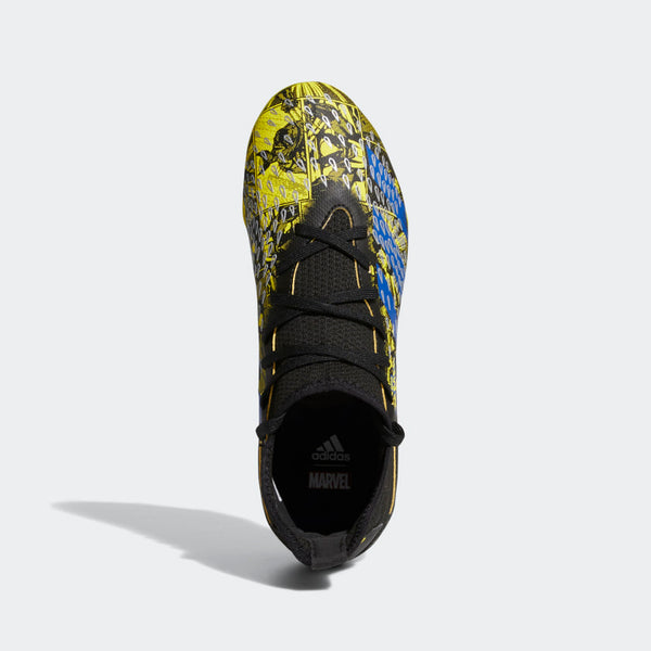 adidas x Marvel Junior Predator Freak .3 FG – Yellow/Blue/Black