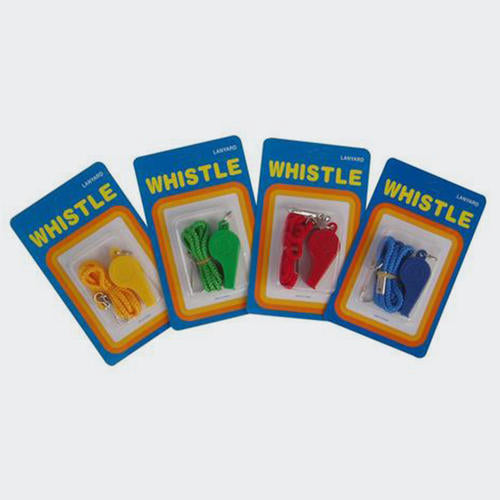 TSS Plastic Whistle Including Lanyard