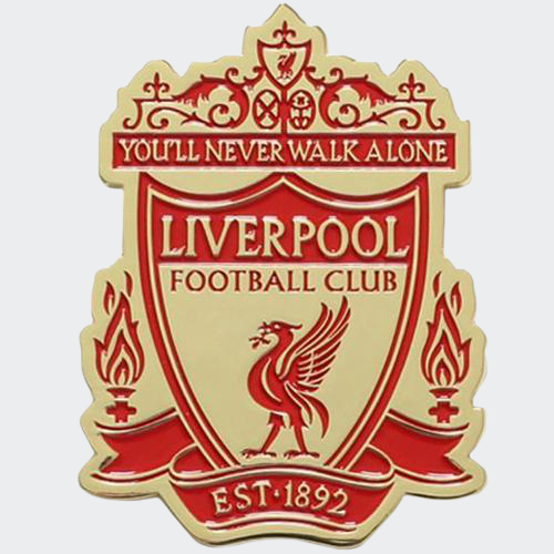 Liverpool Crest Fridge Magnet