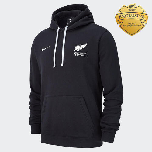 Nike 2020 New Zealand Training Pullover Hoodie – Black