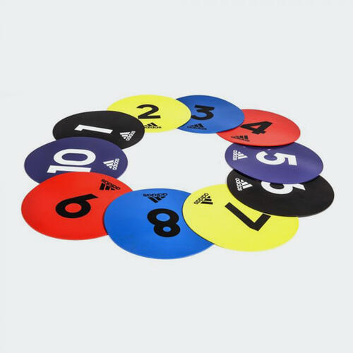 adidas Flat Training Markers (Pack of 10)