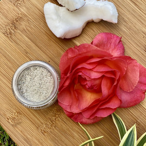 Coconut Rose Clay: Cleanser + Mask