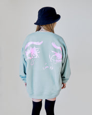 Mint 'Mia' Crewneck