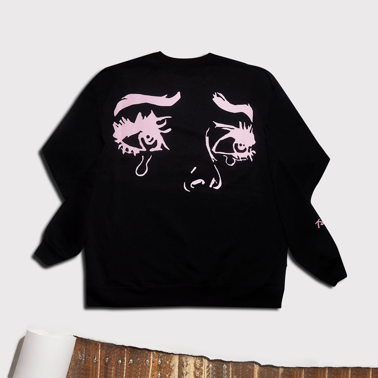 Black 'Mia' Crewneck