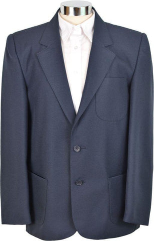 Navy Blue blazer with logo