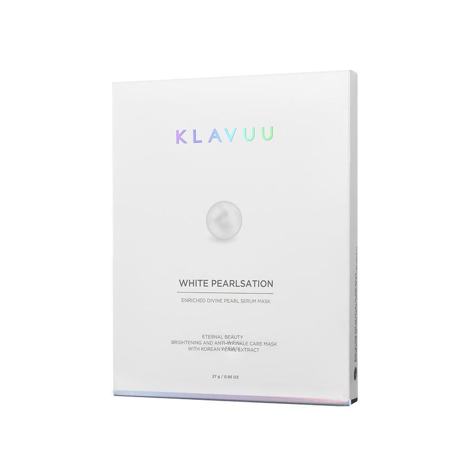 Klavuu White Pearlsation Enriched Divine Pearl Serum Mask (27g*5ea)