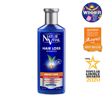 NaturVital Hair Loss Shampoo - Greasy Hair