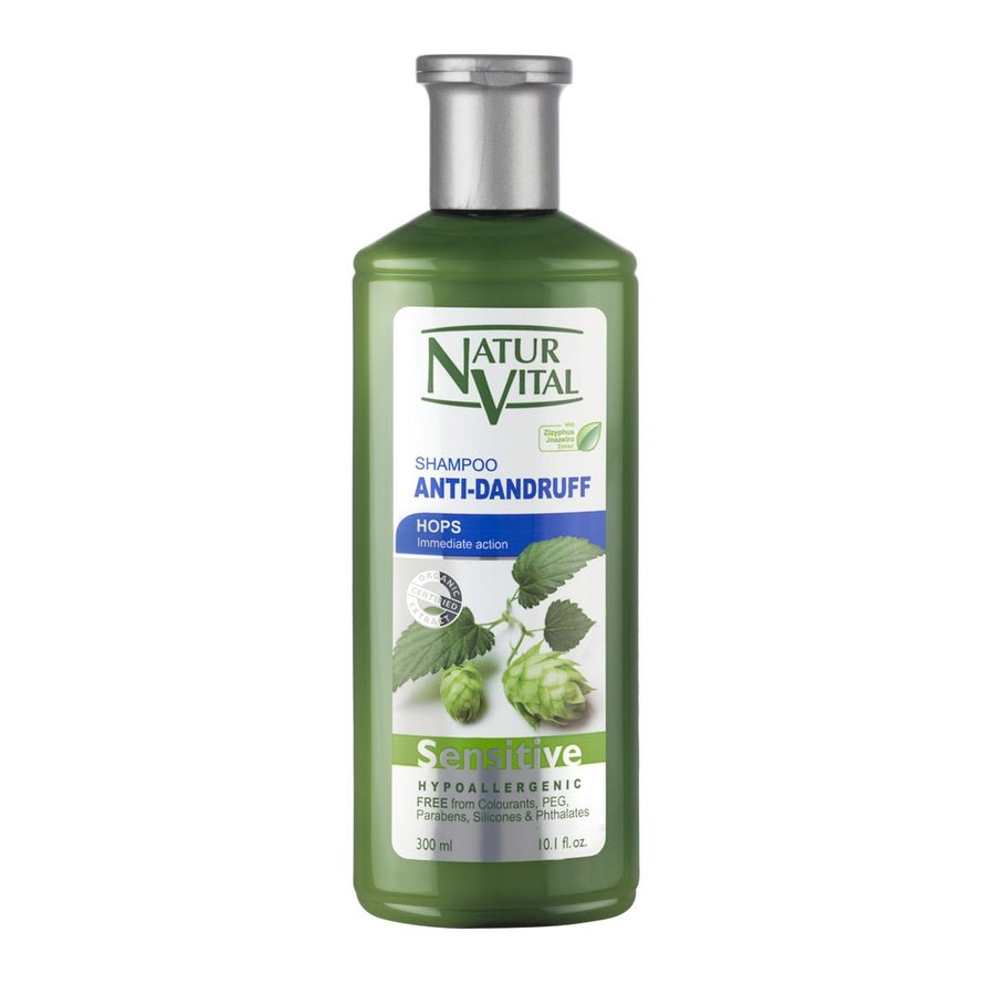 NaturVital Sensitive Anti-Dandruff Shampoo (Hops)