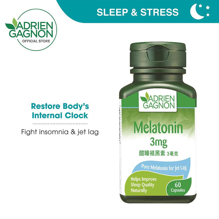 Adrien Gagnon Melatonin 3mg