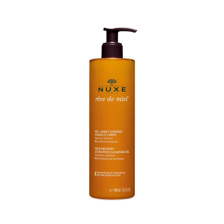 NUXE Reve de Miel Face and Body Ultra-Rich Cleansing Gel (400ml)
