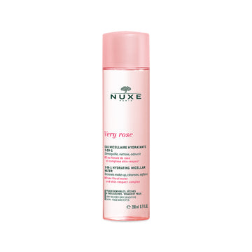 NUXE Very Rose Cleansing Hydrating 3-In-1 Micellar Water (200ml)