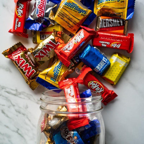 mini candy bar mix