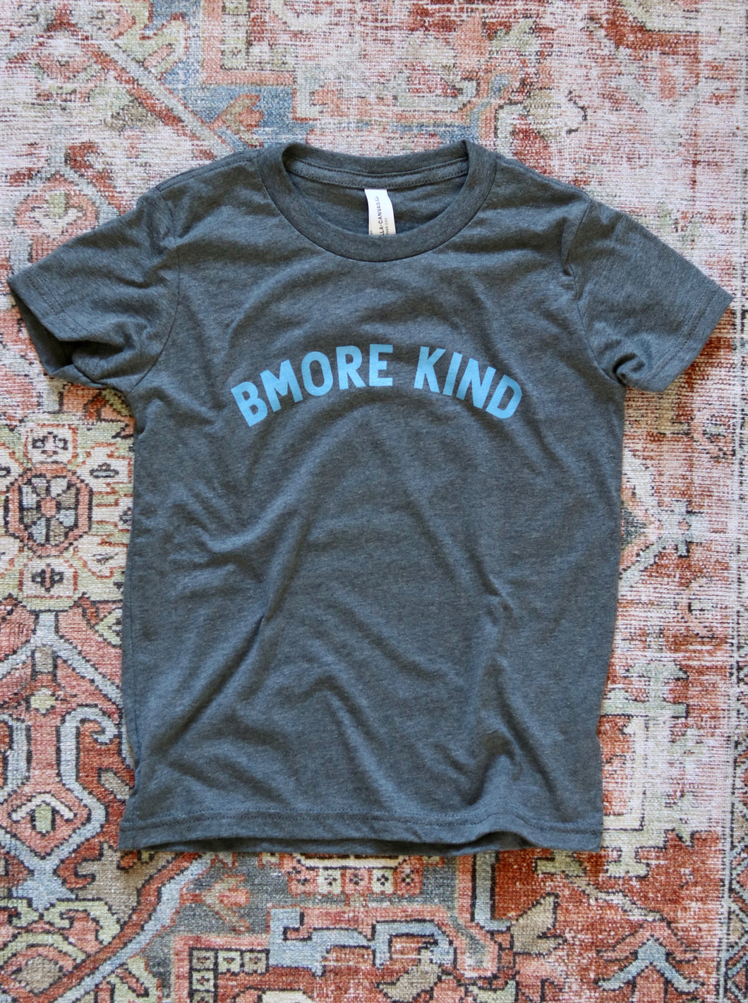 Bmore Kind Youth T-Shirt — Blue