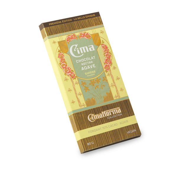 Organic Swiss Dark Chocolate with Agave - CimaNorma