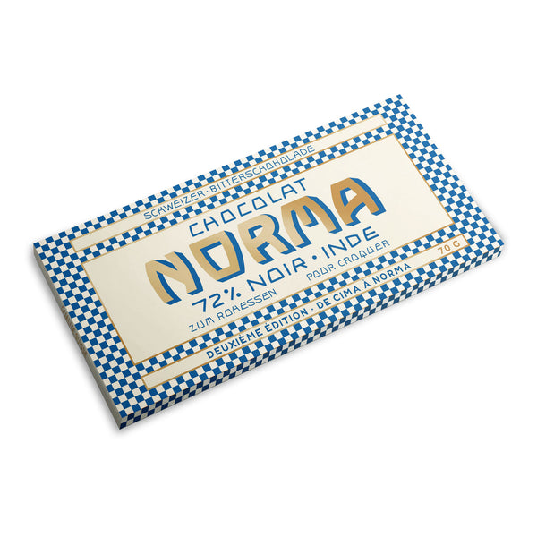 Organic Swiss Dark Chocolate 72%  - CimaNorma