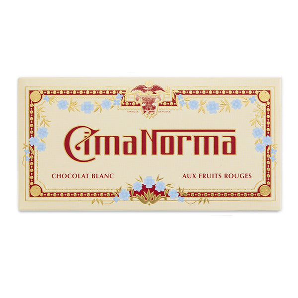 Organic Swiss White Chocolate with Red Fruits - CimaNorma