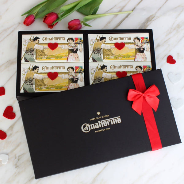 Love Organic Swiss Chocolate Gift Box - CimaNorma