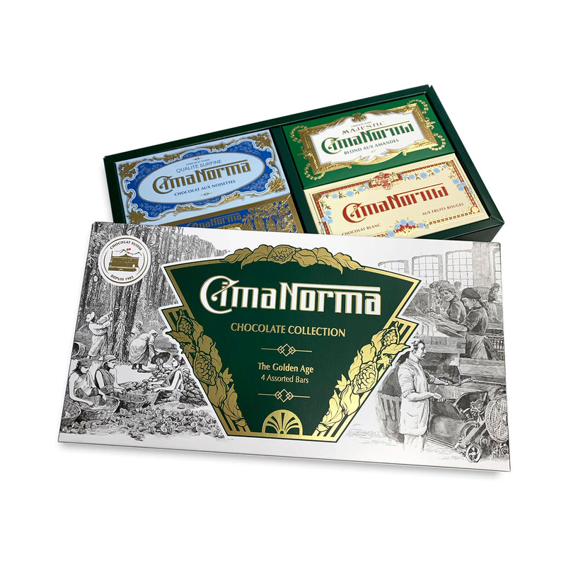 The Golden Age - CimaNorma Bio Swiss Chocolate Collection Box
