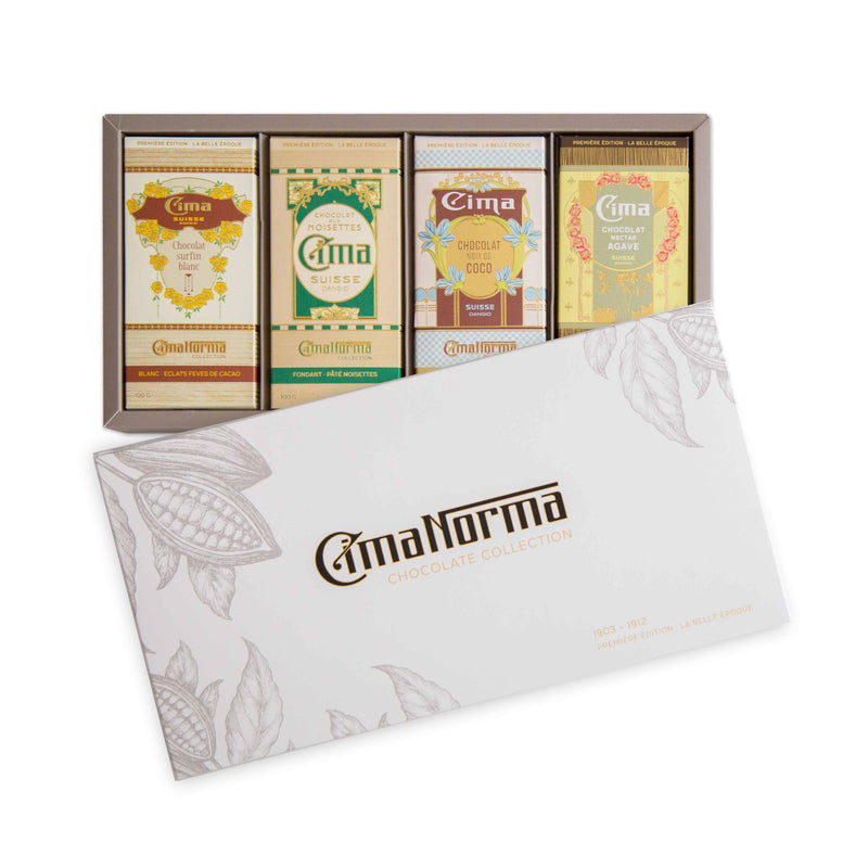 La Belle Époque - CimaNorma Bio Swiss Chocolate Collection Box