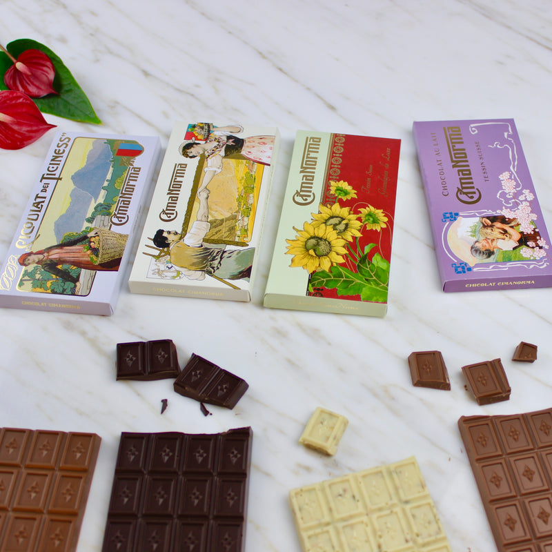Organic Swiss Milk Chocolate - CimaNorma