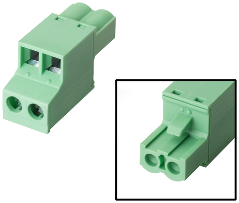 Female connector 2-pin - 6AV6671-8XA00-0AX0