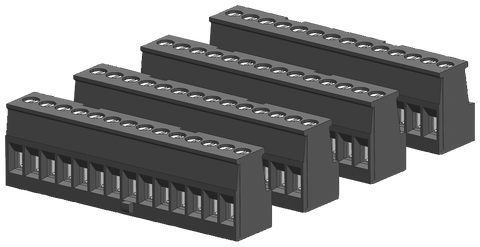 S7-1200 spare part - I/O terminal block tin-coated - coded right - CPU 1211C/1212C on input side - 6ES7292-1AP40-0XA0