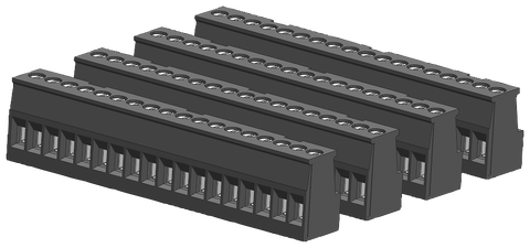 S7-1200 spare part - I/O terminal block tin-coated - CPU 1217C on output side - 6ES7292-1AT30-0XA0