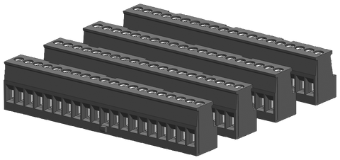 S7-1200 spare part - I/O terminal block tin-coated - coded right - CPU 1214C/1215C on input side - 6ES7292-1AV40-0XA0