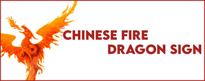 CHINESE FIRE DRAGON SIGN