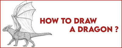 HOW TO DRAW A DRAGON ?