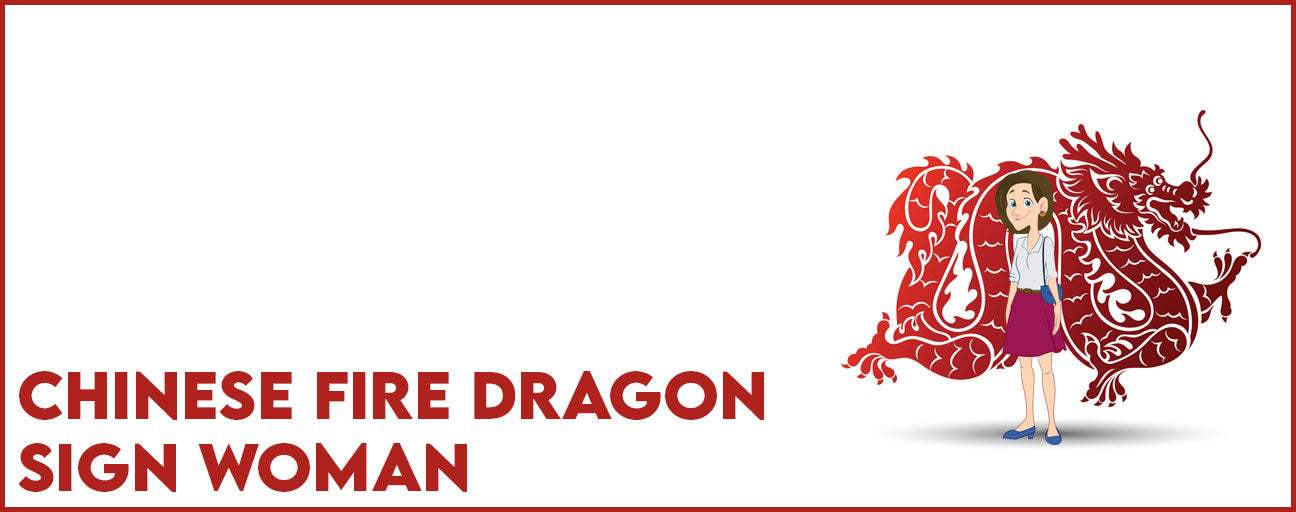 Chinese Fire Dragon Sign Woman