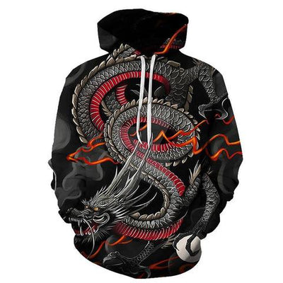 Chinese Dragon Hoodie | Autumn Dragon