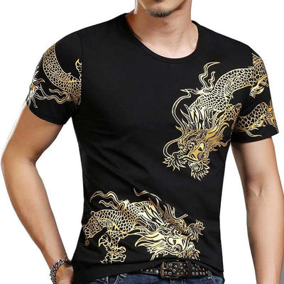 Thai Dragon T-Shirt Gold | Autumn Dragon