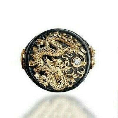 Japanese Dragon Ring | Autumn Dragon