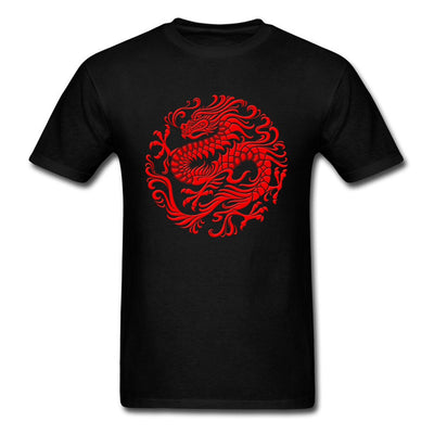 Red Dragon T-Shirt | Autumn Dragon