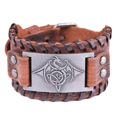 Celtic Dragon Bracelet | Autumn Dragon
