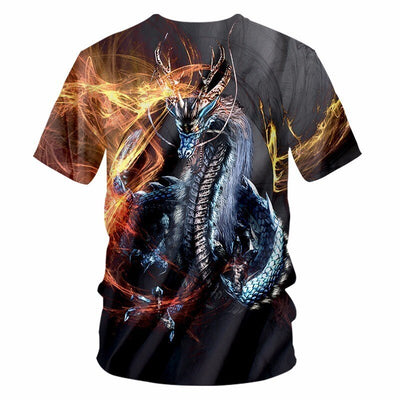 Dragon Fire T-Shirt | Autumn Dragon