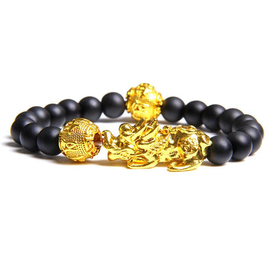 Gold Dragon Head Bracelet | Autumn Dragon
