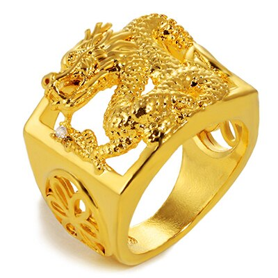 Golden Dragon Ring | Autumn Dragon