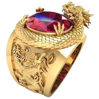 Dragon Ring Gold | Autumn Dragon