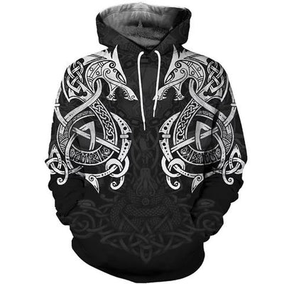 Viking Dragon Hoodie | Autumn Dragon